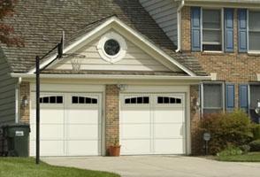 Courtyard Garage Door